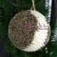 Glob decorat cu perle si lavanda