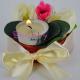 Aranjament Flori artificiale - Bujori - cu Lumanare