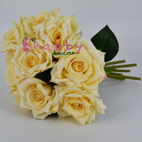 Buchet Trandafiri ivoire