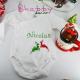 Set Cadou Craciun - Tricou Mama, Tata si Body Bebe - Primul Craciun in 3
