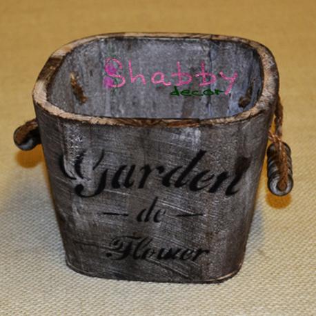 """Galetusa """"Garden de Flower"""" old Decor"""