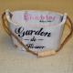"""Galetusa """"Garden de Flower"""" vintage Decor"""