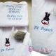 Set Cadou Personalizat Halat cu Pisicuta si Prosop cu Mesaj