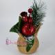 Decoratiune Sarbatori - Saculetul rustic al Iernii