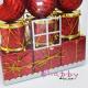 Set Cadou Craciun - Casuta Cocheta cu Ornamente de Brad