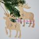 Decor Craciun - Ornament Brad Lemn Renii lui Mos Craciun
