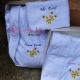 Cadou Set doua Halate de baie Personalizate - Floare de iasomie