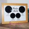 Cadou Personalizat - Tablou Magic Night Sky -Harta Stelelor Familiei