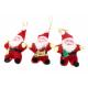 Ornament Textil Mos Craciun 12/Set
