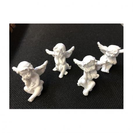 Set Ingerasi din Ceramica albi - Decoratiuni Craciun