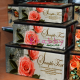 Set 3 cutii bijuterii cu Trandafiri Shabby Chic roz