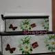 Cutie bijuterii vintage cu fluture si floare