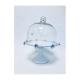 Suport Metalic alb cu Capac sticla - Candy Bar