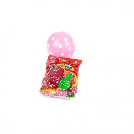 Baloane Mix Color cu Buline 100/set - Decor Eveniment