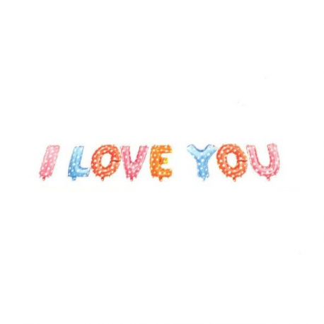 Baloane I Love You - Decor Eveniment