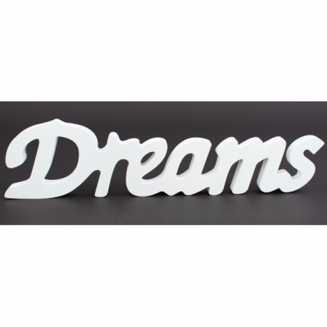 Accesoriu lemn alb Dreams - Decor Eveniment