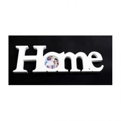 Accesoriu lemn alb Home cu Poza - Decor Eveniment