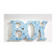 Accesoriu lemn colorat cu animantii Boy/Girl - Decor Eveniment