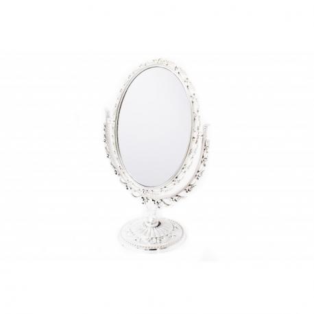 Oglinda de Masa Ovala Argintie Eleganta