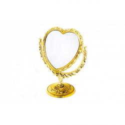 Oglinda de Masa Inima Aurie Eleganta
