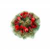 Coronita Usa cu Floare de Craciun - Decor Craciun