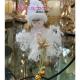 Decoratiune brad papusa cu clopotei 12 buc in set