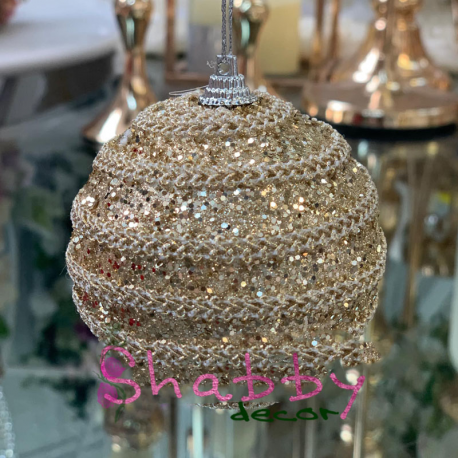 Globuri aurii 8 cm