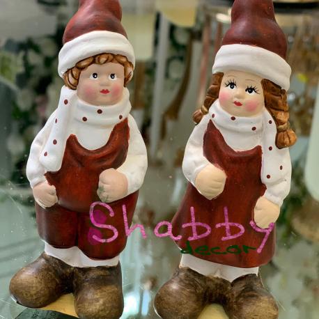 Copilasi din ceramica Craciun