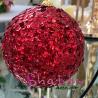 Globuri rosii 11 cm