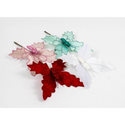 Decoratiune Fluture Frunza Stejar 10/Set