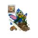 Joc de creatie lemn cu pasare albastra