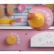 Bucatarie Kitchinette cu ceas din Lemn pentru Copii