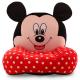 Fotoliu Pufos Copii Mickey Mouse
