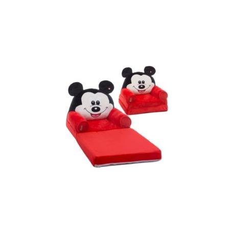 Fotoliu Pufos Extensibil Mickey Mouse Dragalas