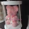 Cadou Aranjament Ursulet din Perle roz