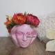 Aranjament Floral in Vas Venus roz - Flori Artificiale