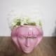 Aranjament Floral Hortensii din Sapun in Vas Venus roz