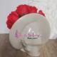 Aranjament Floral Trandafiri rosii din Sapun in Vas Venus Femeie cu Palarie