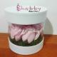 Aranjament din trandafiri de sapun roz