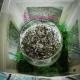 Lumanare decorativa cu lavanda si licheni stabilizati