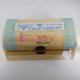 Cadou cufar lemn personalizat cu broderie manuala