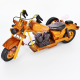Macheta Motocicleta Vintage