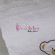 Cadou Personalizat Bebe cu paturica si muselina GOTS