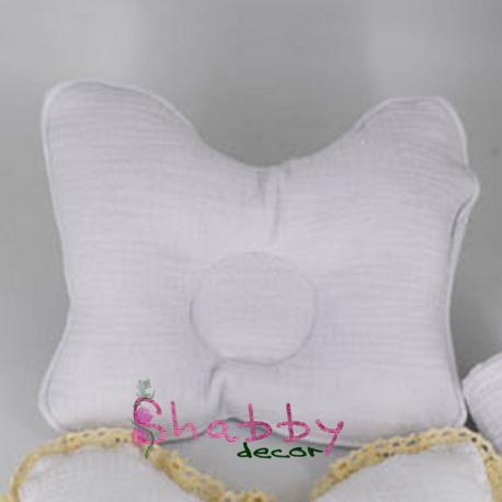 Perna bebelusi impotriva plagiocefaliei din muselina organica