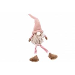 Figurina Craciun Elf Haios Roz - Decor Craciun