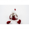 Figurina Brad Fetita Gnom cu Caciulita alba - Decor Craciun