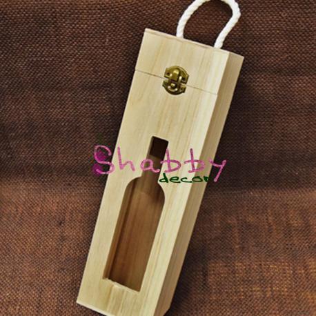 Suport sticla de vin rustic