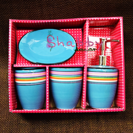Set ceramic Baie Bleu