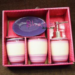 Set ceramic Baie Violet