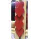 Set Inimi rosii lemn
